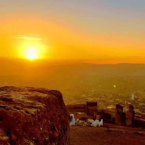 Merinides hill sunrise